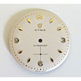 Cyma Cymaflex dial  diameter 29.40 mm