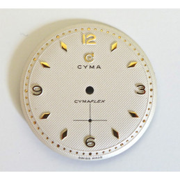 Cadran Cyma Cymaflex diametre 29.40 mm