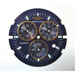 Cadran Breitling bleu - diametre 30.55 mm