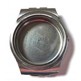 Omega steel watch case ref 198.0025