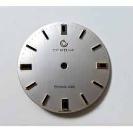 CERTINA Bristol 235 dial - 29.47 mm