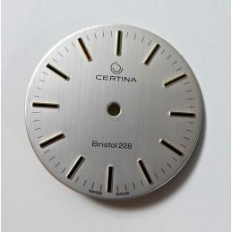 CERTINA Bristol 228 dial - 28.50 mm