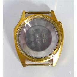 Boitier plaqué or ZODIAC Olympos Assymetric neuf