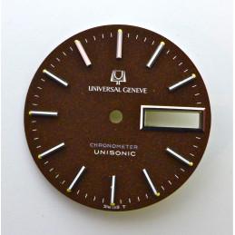 Cadran Universal Genève Unisonic  - diamètre 28.00 mm