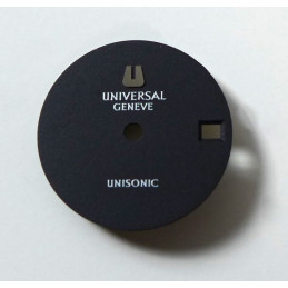Universal Genève unisonic dial - diameter 20.23 mm