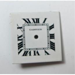 Cartier Tank vintage dial