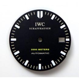 IWC Aquatimer  ref 2882  dial