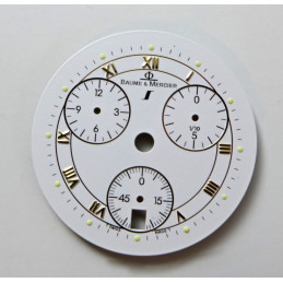 Baume et Mercier cadran chrono
