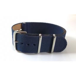 NATO Bracelet noir 20 mm