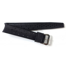 TROPIC STAR original black strap 16mm