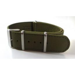 NATO leather strap 20mm