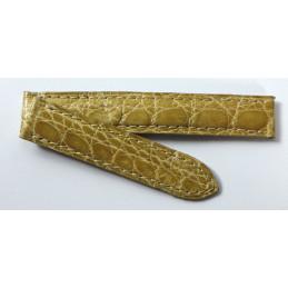 Cartier Bracelet  croco 14 mm pour Tank Normale PM