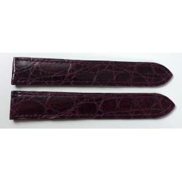 Cartier crocodile strap 17 mm