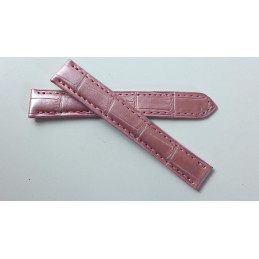 Cartier croco strap 13 mm for Tank Americaine PM