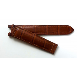 Cartier Pasha varnish burgundy strap 18 mm