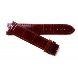 Bracelet Cartier croco 20 mm pour Baignoire GM
