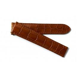 Cartier Bracelet croco 18,5 mm pour Ronde Folle