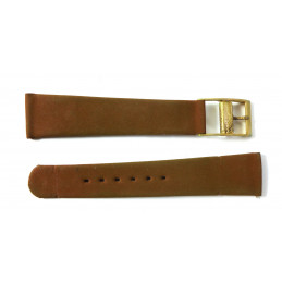 Corfam for Zenith - synthetic strap 18 mm
