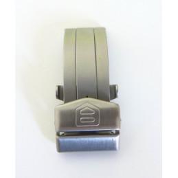 Boucle déployante acier HEUER 17 mm FC 5000