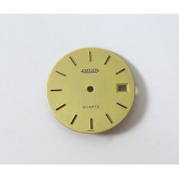 Jaeger Lecoultre cadran doré 28,53 mm