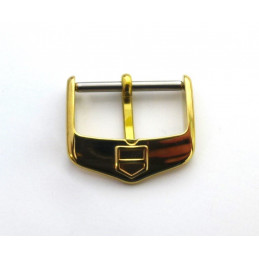 Tag Heuer gold plated buckle 18 mm