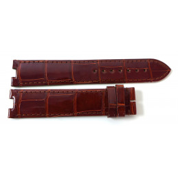 Cartier alligator strap for Baignoire GM . 20 mm