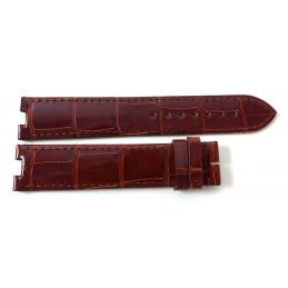 Cartier bracelet alligator pour Baignoire GM . 20 mm