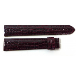 Cartier bracelet croco pour Tank Must GM 19 mm