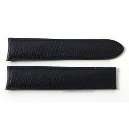 Cartier bracelet veau grainé 17 mm pour Must II ronde