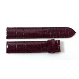 Cartier bracelet croco 18,5 mm pour Tank Américaine GM