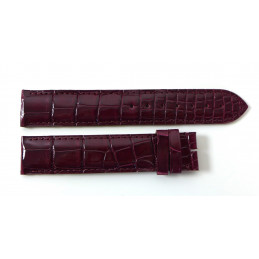 Cartier croco strap 18,5 mm for Tank Américaine GM