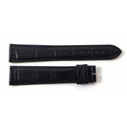 Cartier croco strap 19 mm for Tank Must GM