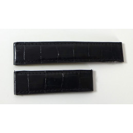 Cartier croco strap 17,5 mm for Tank Must GM