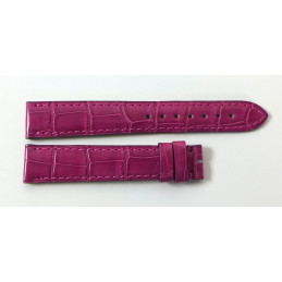 Cartier croco strap 16 mm for Tank Must PM