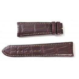 AUDEMARS PIQUET black crocodile strap 22mm