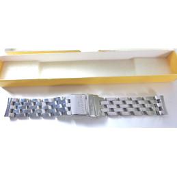 Bracelet Breitling acier Pilote 19mm ref S1301 409A