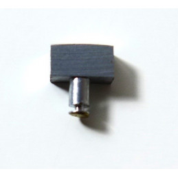 Poussoir acier 5mm petite tige