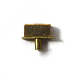 Gold plated pusher 5mm