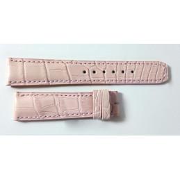 Baume et Mercier bracelet croco 19 mm