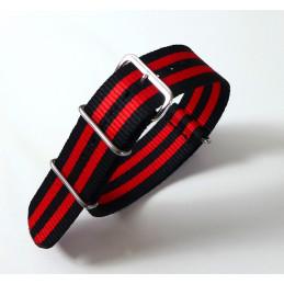 NATO Bracelet nylon 22  mm
