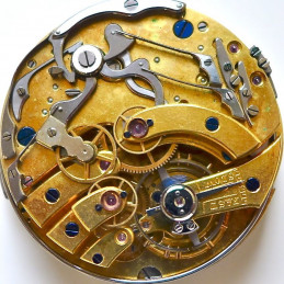 Pocket watch movement quarter repeater