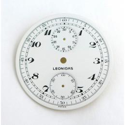 Cadran de chrono gousset Leonidas - Diamètre 45,08 mm