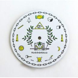 Freemasonry Pocket watch  dial - Diameter 47,07  mm