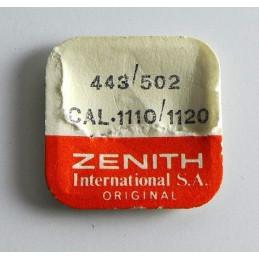 Zenith, tirette pièce 443 cal 1110-1120