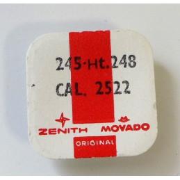 Zenith, chaussée pièce 245 cal 2522