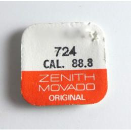 Zenith, axe de balancier pièce 724 cal 88.8