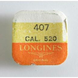 Longines, pignon coulant pièce 407 calibre 520