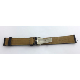 Bell and Ross  leather strap  with deployant buckle