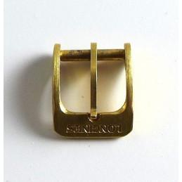 Longines, boucle ardillon plaquée or 10 mm