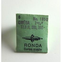 Omega, axe de balancier cal 17.8R / 300 / 310